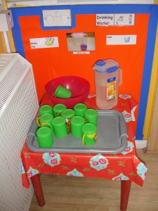 Toddler Room Water Area